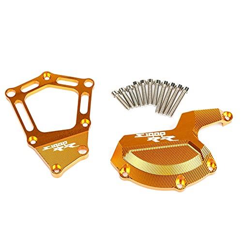 DZSLTC Topes Anticaida Moto Topes Antideslizantes Protectores contra Golpes Y Caídas CNC Aluminio para Moto Motor Deslizadores para BWM S1000 R RR XR S1000RR HP4 Enduro Moto Accesorios (Color : Oro)