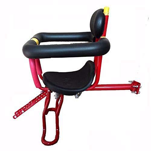 Wangt Veiligheid Kinderzitje, Kinderen Veiligheid Bevestiging Seat Bike Voorstoel Fiets Kinderveiligheid Zitplaatsen - met Afneembare leuningen