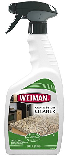 Weiman Granite Cleaner - 24 Ounce - For Granite Marble Soapstone Quartz Quartzite Slate Limestone Corian Laminate Tile Countertop and More