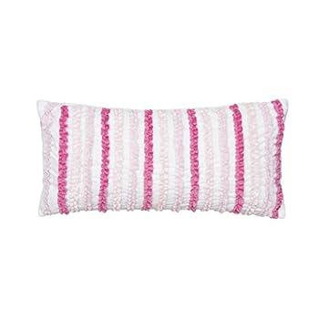 Levtex Merrill Girl Ruffled Pillow Pink