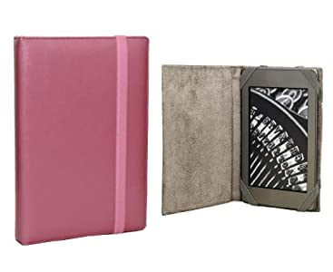 ANVAL Funda para EBOOK BQ Cervantes Touch Light - Color Rosa