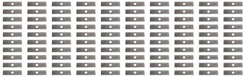 USA Mower Blades 100 8'x2' Unpainted Edger Blades for Echo 720237001,...