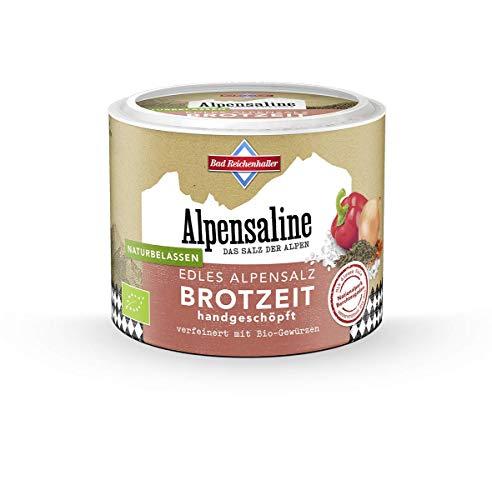 Bad Reichenhaller Alpensaline Edles Alpensalz Brotzeit, 100 g