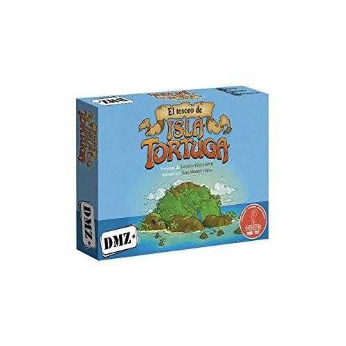 DMZ GAMES- Juego de Mesa, Color Azul (DMZ1005)