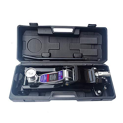 Car Repair Jacks 2.5 Ton Jack Horizontal Hydraulic Car Vehicle Hand-cranked Hydraulic Jack Tyre Changing Tool fot Long Trips (Color : Black, Size : 53x20x78CM)