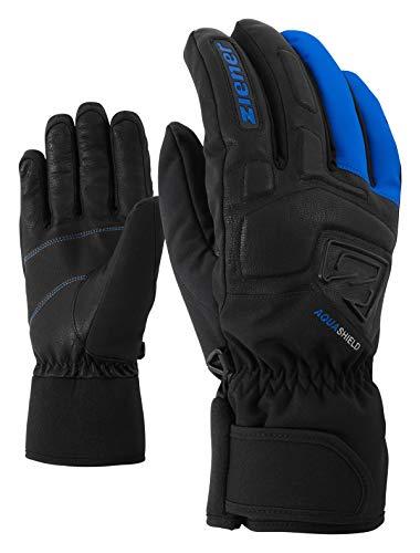 Ziener Gloves Glyxus Gants de Ski pour Homme Taille Unique Bleu (Persian Blue)