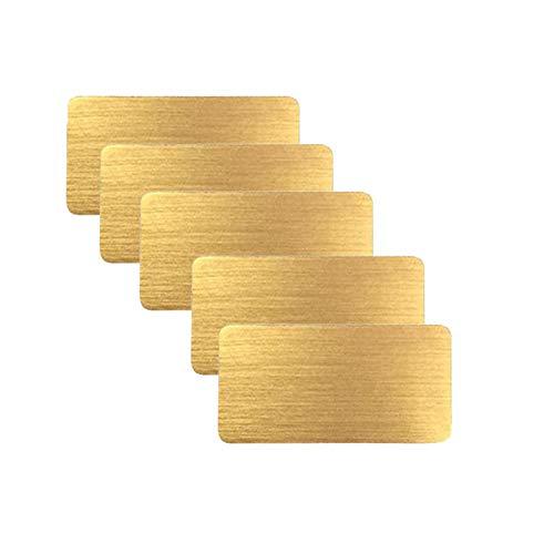Uniqal, 5 pz EMF Cellulare Anti Radiazione Protector Sticker Negativo Ioni EMF Blocker per tutti i dispositivi elettronici