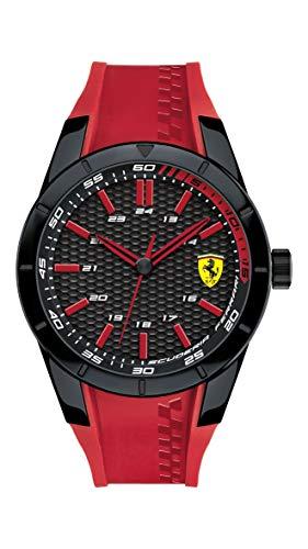 Scuderia Ferrari Reloj Orologio solo Tempo Uomo Rosso 5ATM fer0830299