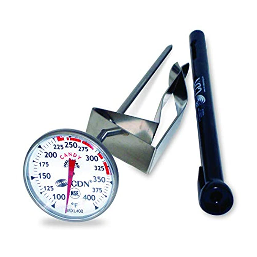 CDN IRXL400 - ProAccurate Candy & Deep Fry Thermometer - Insta-Read, NSF Certified jzbp08428