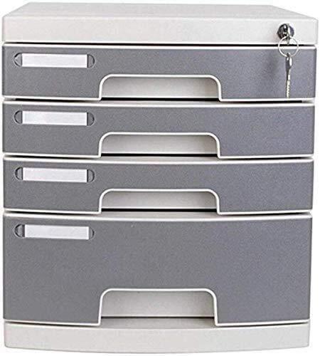 MTYLX Archivo, Gabinete/Bastidor, Plana Plana de Alenamiento de Oficina Plana S Plano de Oficina de Oficina A4 Archivador Cajón con Cerradura de Plástico
