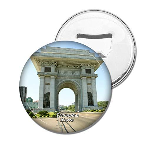 Weekino Arc de Triomphe en Corée Bière Ouvre-Bouteille Aimant De Réfrigérateur Voyage Souvenir Autocollant de réfrigérateur Fort