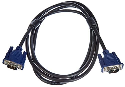 AKYGA AK-AV-01 VGA Kabel für Monitor TV PC SUB-D Stecker auf Stecker 1.8m, Schwarz