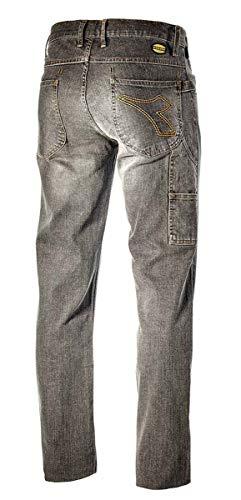 Diadora Utility, Jeans Stretch, XL, Griggio