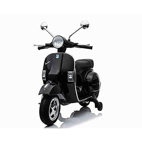 Jhonsorr - Ruedas de goma para moto o scooter Vespa eléctrica PX150 de 12 V para niños