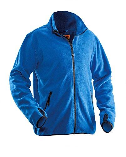 Jobman 550175-9800-5 Fleece Jacke in dunkelgrau Größe M, M