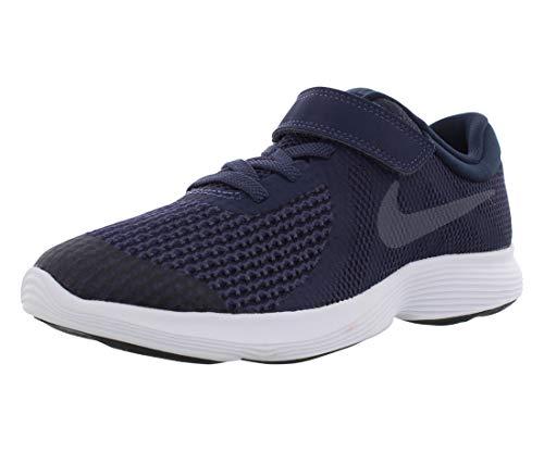 Nike Revolution 4 (Psv) Zapatillas de Running Niño, Azul (Neutral Indigo / Light Carbon / Obsidian 501), 33 EU