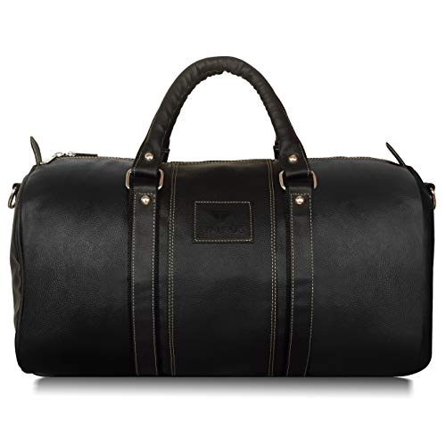 Walrus Estate Black Color Duffle Bag-WDB-EST-02(32 litres)