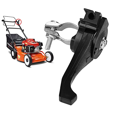 Palanca de acelerador universal para cortacésped, palanca de acelerador para manillares de 23 ~ 27 mm