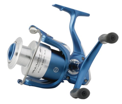 Shakespeare Mach 2 Front Drag Reel 050 Size - Blue/Silver, 556 G