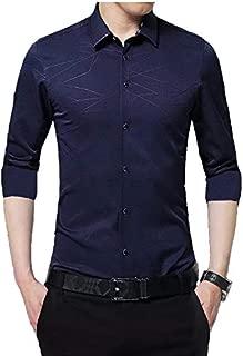 IndoPrimo Men's Cotton Causal Shirt Full Sleeve