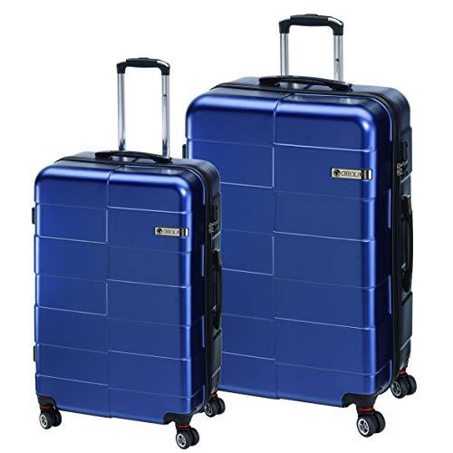 Check.in Berlin 2.0 Set de 2 valises à roulettes Bleu