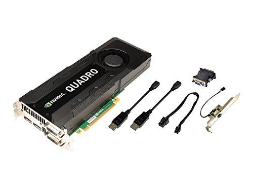 PNY NVIDIA Quadro K5000 MAC Grafikkarte (PCI-e, 4GB GDDR5 Speicher, DVI, 1 GPU)