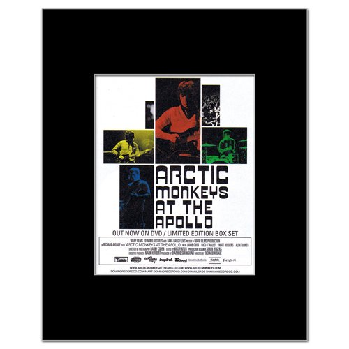 ARCTIC MONKEYS - At the Apollo Matted Mini Poster - 14x10.8cm