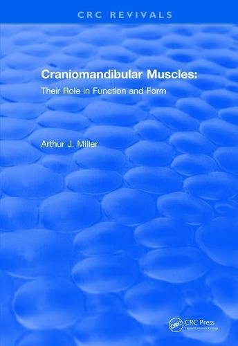 Revival: Craniomandibular Muscles (1991): Their Role in Function and Form (CRC Press Revivals)