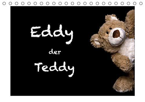 Eddy, der Teddy (Tischkalender 2021 DIN A5 quer)