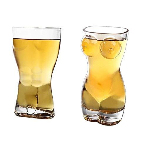 NLNL Transparente Weinglasschale Klare Biersaftschale Langlebige kreative Beifall KTV Bar Whisky Eistrinkgläser für Bardekorationen-2 STK