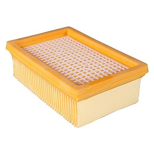 PATONA HEPA Flachfaltenfilter für Kärcher MV4, MV5, MV6, 2.863-005.0 | widerstandsfähige Lamellenfilter