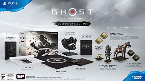 Ghost Of Tsushima collector's edition PS4