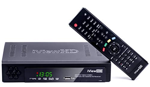 FULL HD COMBO Freeview HD + Satellite / FreeSat / Sky HD Receiver Set Top Digi Box 7...