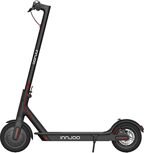 InnJoo - Monopattino Elettrico Ryder XL PRO Batteria 36 V/7,8 Ah, Motore da 350 W, velocità Massima di 24 km/h, Nero, XL