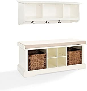 Best 2 piece entryway bench and shelf Reviews