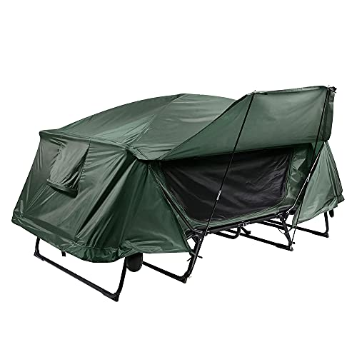 Yescom Double Tent Cot Folding Portable Waterproof Camping Bed Cot