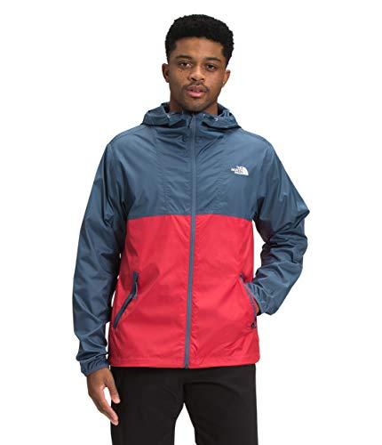 The North Face Men's Cyclone Jacket, Vintage Indigo/Rococco Red, XS