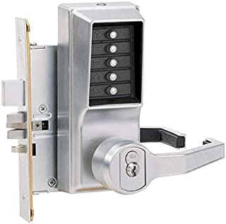 Kaba Simplex RR8146S Lever Mechanical Pushbutton Lock Key Bypass Mortise (Right Hand Reverse)