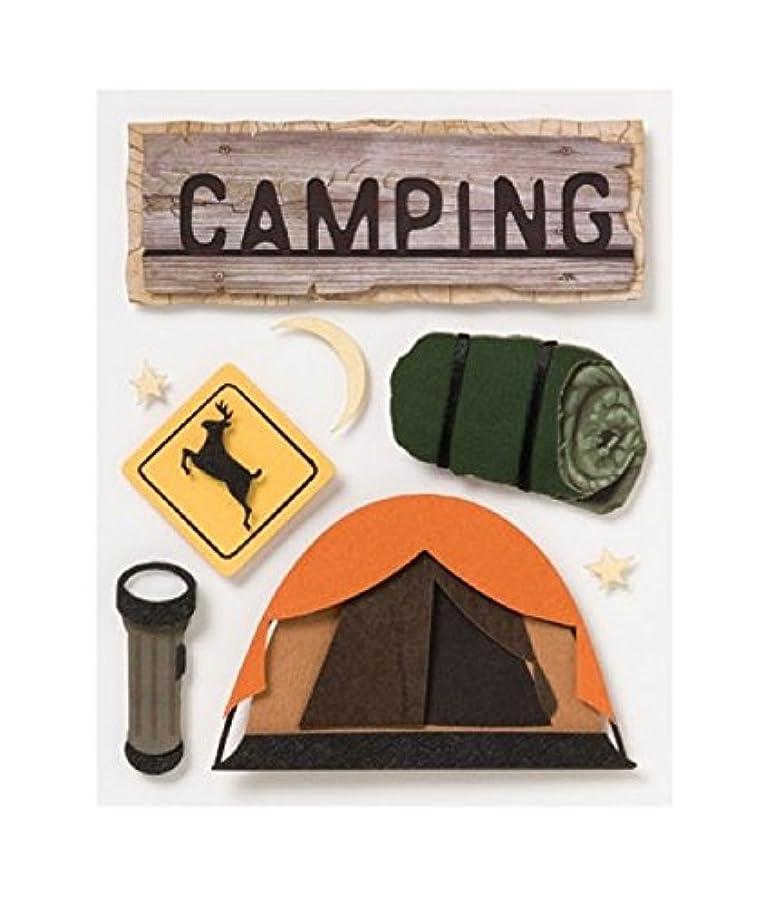 Karen Foster Stacked Stickers, Camping Equipment