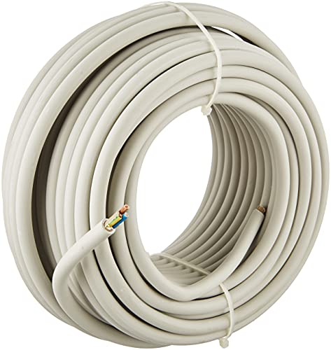 Kopp 150825001 NYM-J 3 x 1,5 mm² Feuchtraum-Kabel, 25 m-Ring