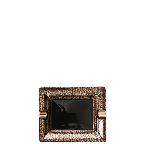 Rosenthal - Geschenkserie New Gold Ascher - Aschenbecher 16 cm
