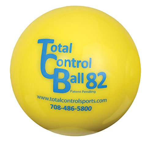 TOTAL CONTROL BALL TCB 82 Softball Weighted Training Hitting Batting Aid ~ 6 BALL Pack