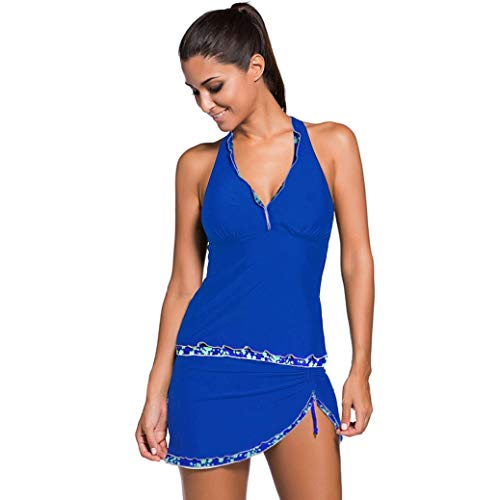 Damen Badeanzug Seaside Beach Dress Rock mit offenem Rücken und V-Ausschnitt Skin-Friendly Comfortable Breathable Sports Swimwear
