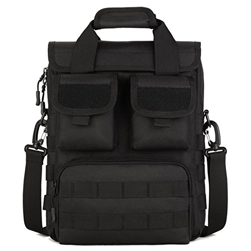 Tactical Briefcase Military Laptop Messenger Bag Shoulder Bag Handbag for Men
