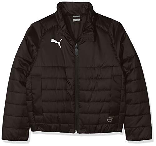 PUMA Kinder LIGA Casuals Padded Jacket Jr Jacke, Black, 176