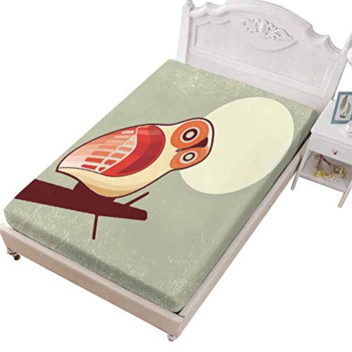 SoSung Queen Size Fitted Sheet Only - Stretch & Non-Slip Outhouse Old The,Old Wooden Shed in The Outback Country Side,Soft Decorative Fabric Bedding All-Round Elastic Pocket