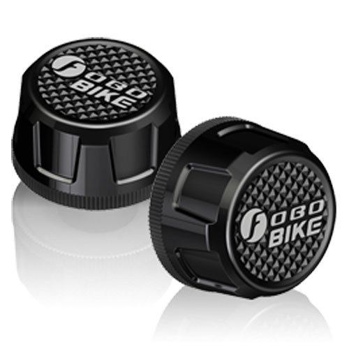 FOBO Bike Bluetooth 4.0 Theft Deterrent Android and iOS Compatible Tire Pressure Monitoring System...