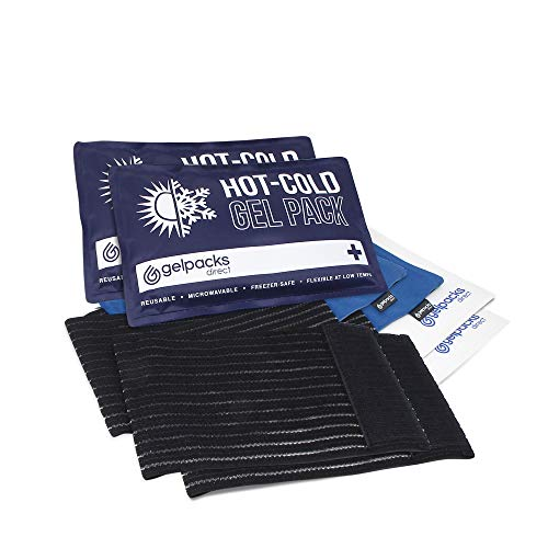 Wiederverwendbare Mikrowellen-Wärmepacks zur Schmerzlinderung des unteren/oberen Rückens - Doppelpack