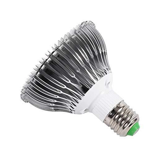 XQAQX Grow Light, Plant Grow Light, 48W Grow Light LED E27 Planta hidropónica Grow Light Panel Lámpara de Cultivo Interior de Espectro Completo para Invernadero