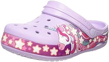 Crocs Kids' Fun Lab Unicorn Clog | Comfortable Slip On Shoes for Kids